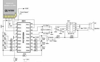 Дверной звонок на микроконтроллере
